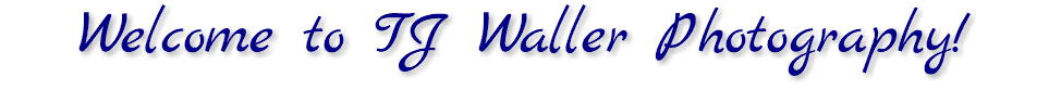 Welcome to TJ Waller Photography!